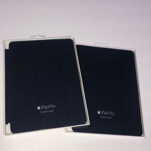 "(2) Apple iPad Pro Smart Cover in Navy 9.7"""